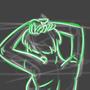 Neon Figure by magnesiumflint