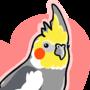Cockatiel Sticker by yoshik0