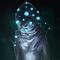 Daily Imagination #35 - Discoballhead Creature