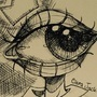 Inktober 1: Eye Man by doublemaximus