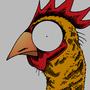 Frickin' Chicken by CourageousCosmic