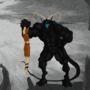 Grimotaur by darksskull
