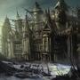 random European castle by Kiabugboy