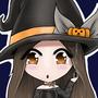 Chibi Pumpkin Witch by Toka-art