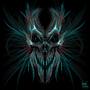 Dark skull by ddraw