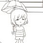 Undertale: Greater Dog Is Waterproof Sketch by GrumpySheep