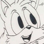 inktober day 17 tails the fox by megadrivesonic