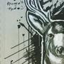 Inktober: Deer by Rhunyc