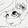 #Inktober 3: Fluttershy by HlihorAlecsandra