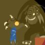 My First Monster EVAR ^^ (THE GRIMATAUR) by gamebrojimmy