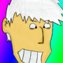 Dude with white hair by Ombey