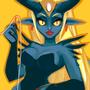 Colour Pallette Monster Girl by Sabtastic