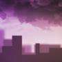 Noisysundae wallpaper - Dusky raincloud by Noisysundae