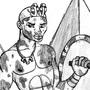 Piye the Kushite Conqueror by BrandonP