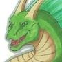 Fin Dragon sticker concept