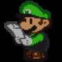 Me reading (Paper Mario Me version)