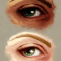 Speedpaint Practise - Eye by BugsAndBooks