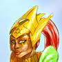 Shrine High Priestess by qualinwraith
