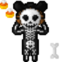Halloween Icons - Skeleton