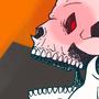 Spooky Scary Skeleton by Narmak