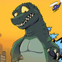 Godzilla: King of... Oops by Ztoons