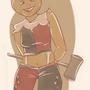 Haley, the pumpking by SaraVinhal