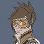 Tracer Sketch (No shading) by TGarms