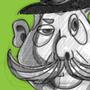 Bowler Hat Man 4rd study - more shape variation
