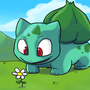 No.001 Bulbasaur by Ztoons