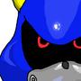 Metal Sonic Fan Art by BrennonRamsey