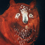 Red bear by KattyC