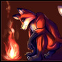 Taka and the Flame by MythicLullaby13