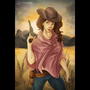 Cow Girl by BabySteps