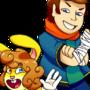 joe rabbit and larry robertson by Tiny-Airman