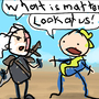 Geralt of Rivet City Crossover Comic Number 13: Fallout 4 by Buckycarbon