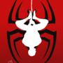 Spiderman reverse silhouette