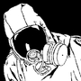 Gasmask guy by GhoulHellbilly