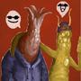 Daily Imagination #74 - Slug Bros by Xephio
