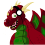 Welsh dragon MS paint 1st by ScribbleAnt