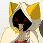 Taokaka Eating Ramen by Plazmix