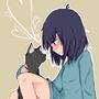 Cat Love by 1taiga