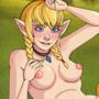 Linkle and Zelda by yachichan