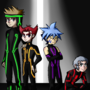 Commission - Angusmon Blitzkrieg boys by FahBraccini