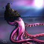 Octopus island by Puddingfuzz