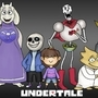 Undertale Cast Mural by Leightoons