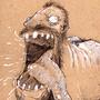 big ass monster by MrCreeep