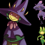 POke Mashup: Mismagius Leavanna by Blauherz