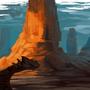Daily Imagination #82 - Lizard Ruin by Xephio