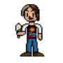 Egoraptor/Arin Hanson Sprite by RealFaction