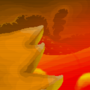 Magma Cave pixel art [wallpaper] by Jeyzor